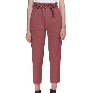 Isabel Marant Rosewood High-Waist Cropped Pants